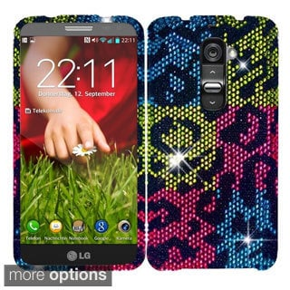 BasAcc Diamond Design Bling Shinny Hard Case for LG G2 Mini LS885