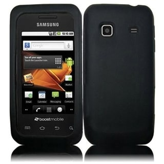 BasAcc Black Dust Dirt Proof Hard Case for Samsung Prevail M820 Precedent M828C