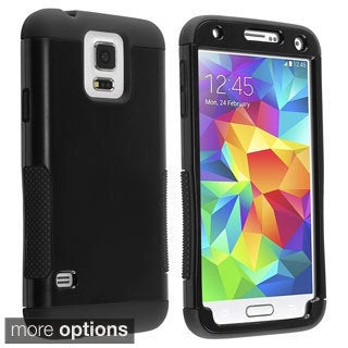 BasAcc Rugged Shock Proof PC Silicone Hybrid Case for Samsung Galaxy S5