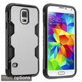 BasAcc Rugged PC Silicone Aluminum Hybrid Case for Samsung Galaxy S5
