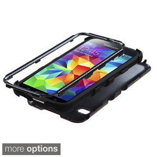 BasAcc Pattern Design Shock Proof PC Silicone Hybrid Case for Samsung Galaxy S5
