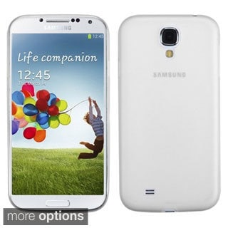 BasAcc Colorful Clear Frosted Back Case for Samsung Galaxy S4/ S IV