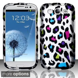 BasAcc Rubberized Pattern Design Dust Proof Hard Case for Samsung Galaxy S3