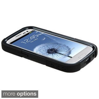 BasAcc Rugged Shock Proof PC Silicone Hybrid Case for Samsung Galaxy S3