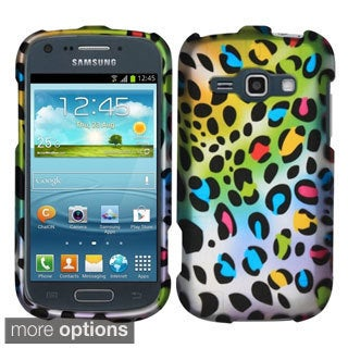 INSTEN Rubberized Dust Proof Hard Plastic Phone Case Cover for Samsung Galaxy Prevail 2/ Ring