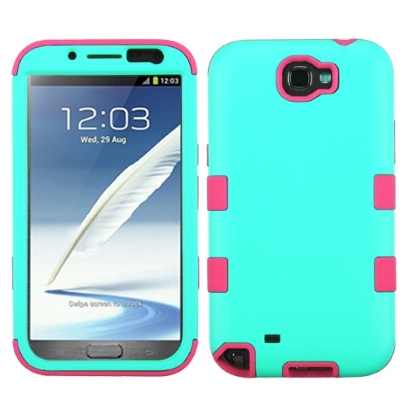 BasAcc Colorful Shock Proof PC Silicone Hybrid Case for Samsung Galaxy Note 2 at Sears.com
