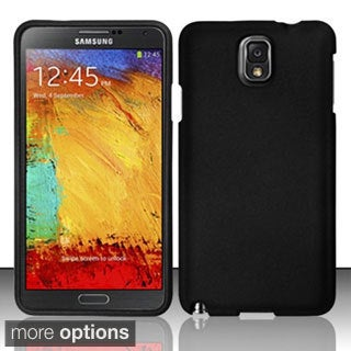 BasAcc Rubberized Colorful Dust Proof Hard Case for Samsung Galaxy Note 3