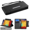INSTEN Magnetic Flap Wallet Lanyard Stand Leather Phone Case Cover for Samsung Galaxy Note 3