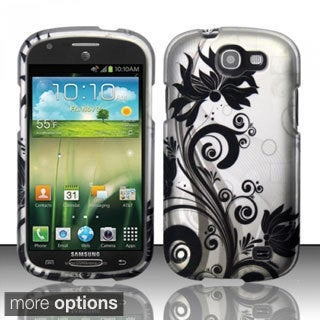 BasAcc Rubberized Pattern Dust Proof Hard Case for Samsung Galaxy Express i437