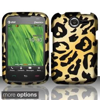 INSTEN Rubberized Pattern Design Dust Proof Hard Plastic Phone Case Cover for Pantech Renue P6030