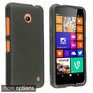 BasAcc Rubberized Pattern Design Dust Proof Hard Case for Nokia Lumia 635