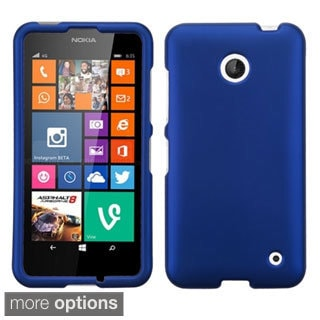 BasAcc Rubberized Dust Dirt Proof Hard Case for Nokia Lumia 635