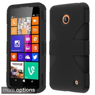 BasAcc Pattern Design Shock Proof PC Silicone Hybrid Case for Nokia Lumia 635