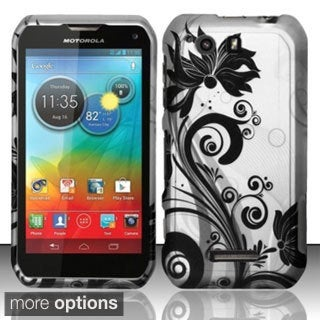 BasAcc Rubberized Dust Proof Hard Case for Motorola Photon Q 4G LTE XT897