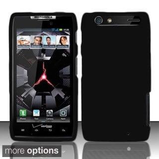 INSTEN Rubberized Colorful Dust Proof Hard Plastic Phone Case Cover for Motorola Droid RAZR XT912