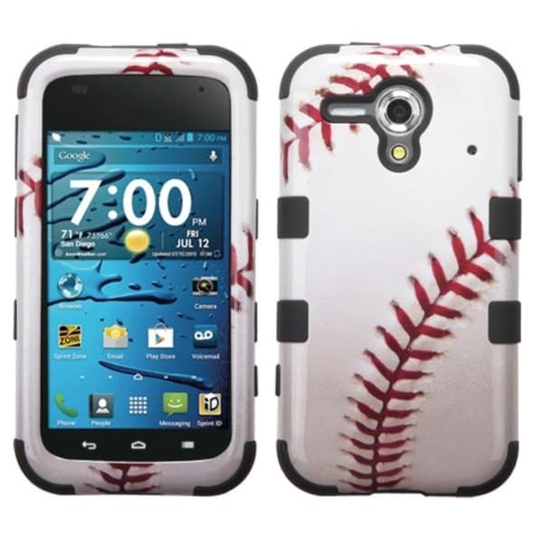 INSTEN Pattern Shock Proof PC Soft Silicone Hybrid Phone Case Cover for Kyocera Hydro Edge C5215