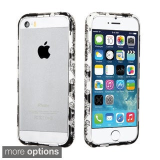 INSTEN Diamante Metal Surround Shield Bumper for Apple iPhone 5/ 5S