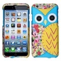 BasAcc Rubberized Owl Cartoons Dust Proof Hard Case for Apple iPhone 6 4.7-inch