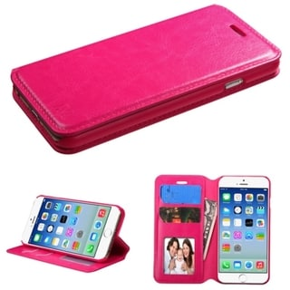 BasAcc Magnetic Flap Wallet Stand Leather Case for Apple iPhone 6 4.7-inch