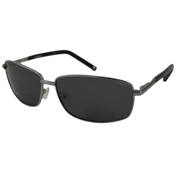 Polaroid Men's P9302 Rectangular Sunglasses