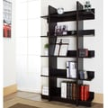 Furniture of America Kriskross Open Espresso Display Stand