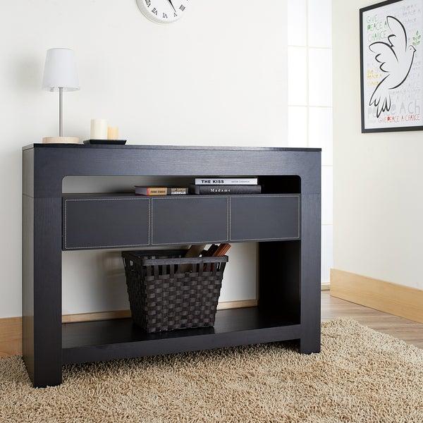 Furniture of America Arroya Modern Black Console Table  : Furniture of America Arroya Modern Black Console Table 2b7323c7 a110 4f8f b4e1 10c05450dacc600 from www.overstock.com size 600 x 600 jpeg 70kB