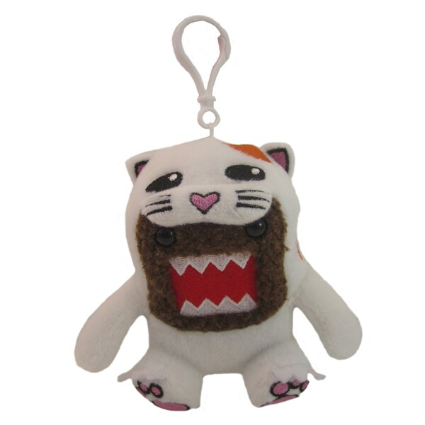 License 2 Play Domo Cat Clip-on Plush