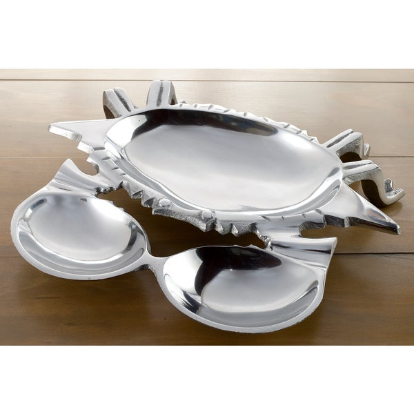 3-Section Aluminum Crab Tray