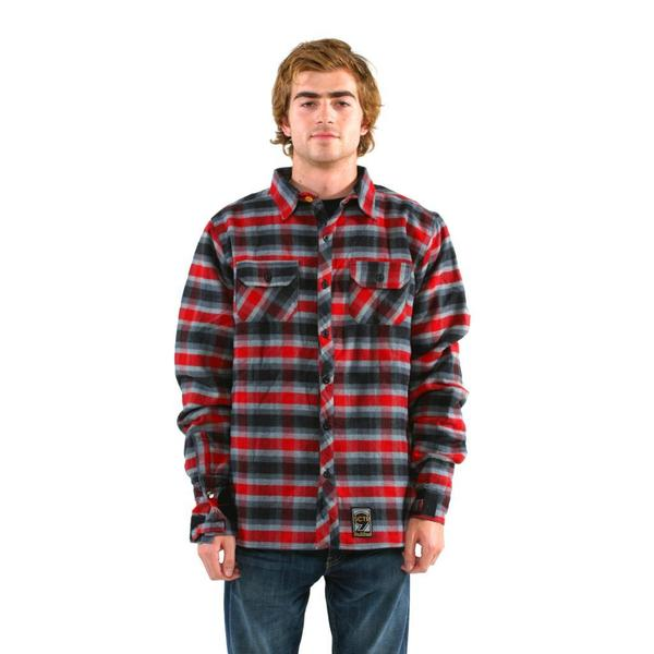 Sector 9 Men's 'Drifter II' Red Shirt