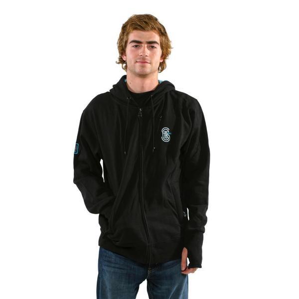 Sector 9 Men's 'The Getaway' Black Sweatshirt