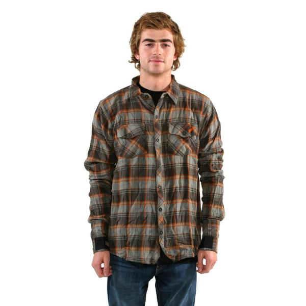 Sector 9 Men's 'Woodland' Brown Shirt