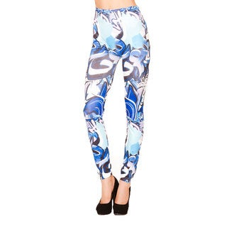 Just One Juniors Street Graffiti Seamless Leggings