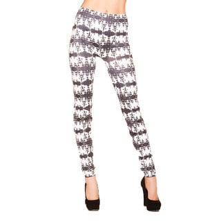 Just One Juniors Batik Print Seamless Leggings