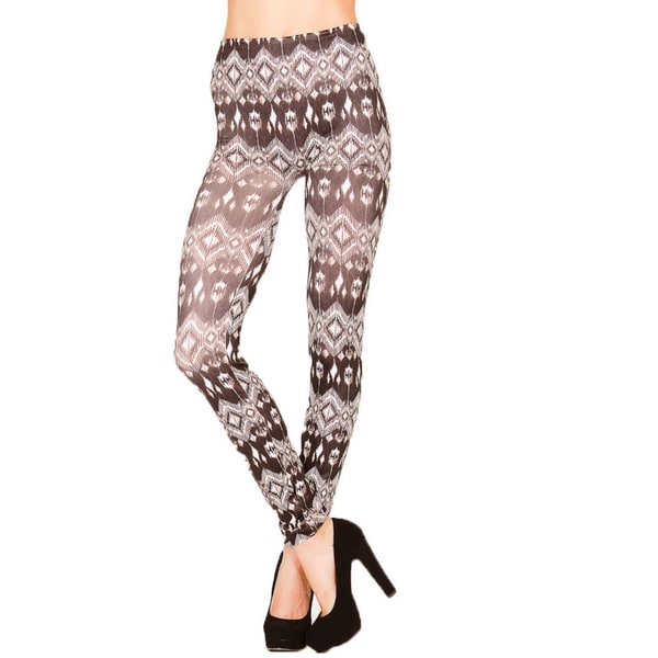 Just One Juniors Native Print Seamless Leggings