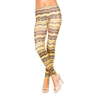 Just One Juniors African Bambataa Seamless Printed Leggings