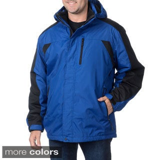 Hawke & Co Sport Men's Detachable Hood Zip-out Lining Jacket