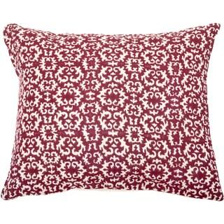 Trendsage Acient Fuschia Decorative Accent Pillow