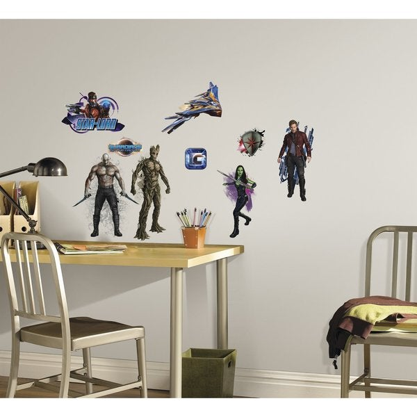 Marvel Guardians of the Galaxy Peel and Stick Wall Decals