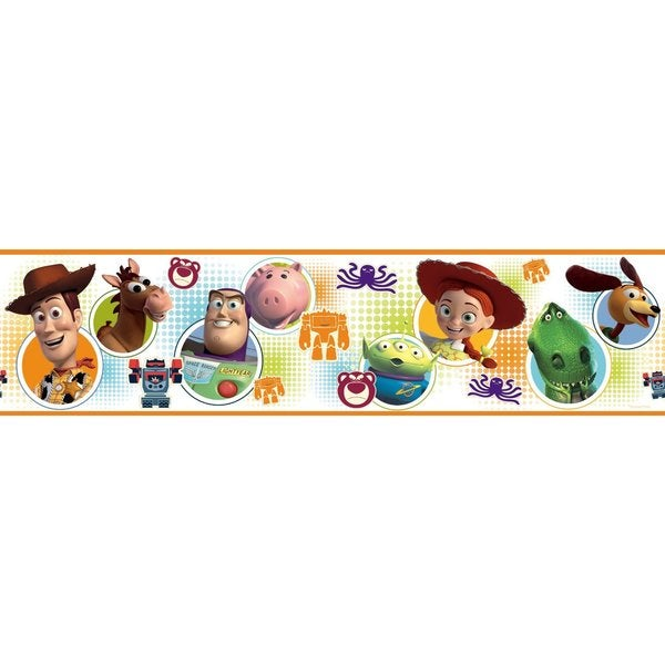 Disney Toy Story 3 Peel & Stick Border