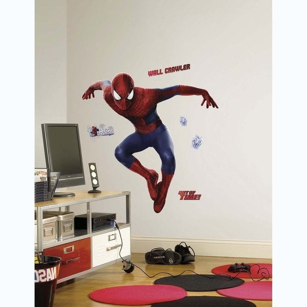 The Amazing Spider-Man 2 Peel and Stick Giant Wall Decals