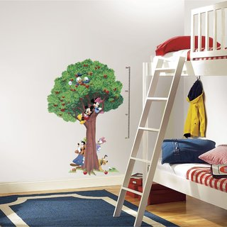 Disney Mickey & Friends Peel and Stick METRIC Growth Chart Wall Decals