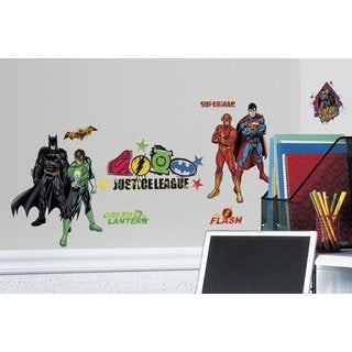 DC Justice League Peel & Stick Wall Decals