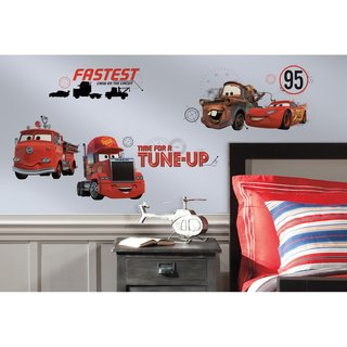 Disney Cars Friends to the Finish Peel and Stick Wall Decals