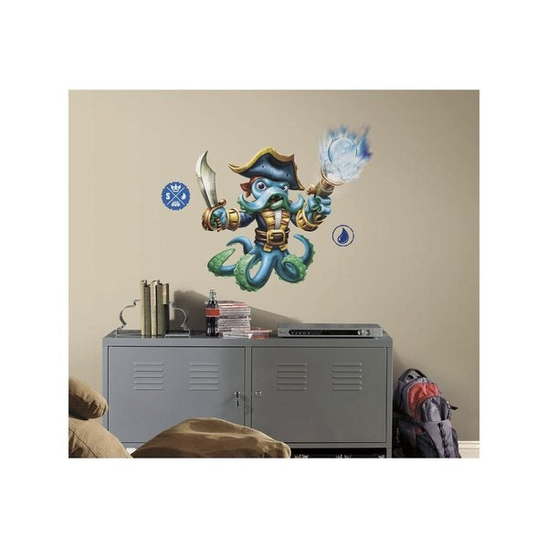 Skylanders SWAP Force Wash Buckler Peel and Stick Giant Wall Decals 13790883