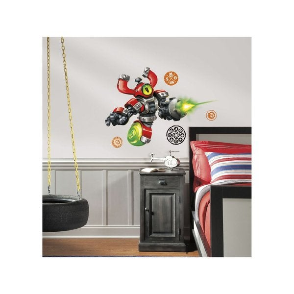 Skylanders SWAP Force Magna Charge Peel and Stick Giant Wall Decals