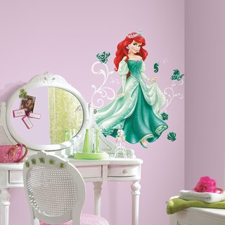 Disney Princess Ariel Peel and Stick Giant Wall Decals