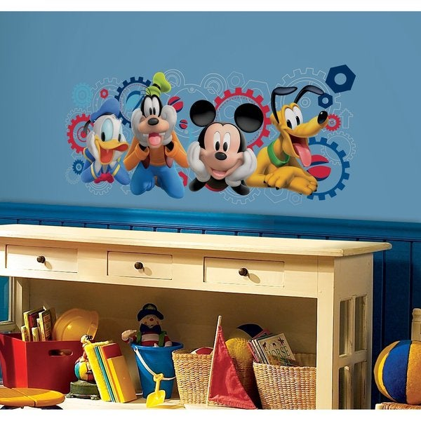Disney Mickey Mouse Clubhouse Capers Peel and Stick Giant Wall Decals
