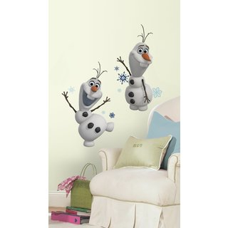 Disney Frozen Olaf The Snow Man Peel and Stick Wall Decals