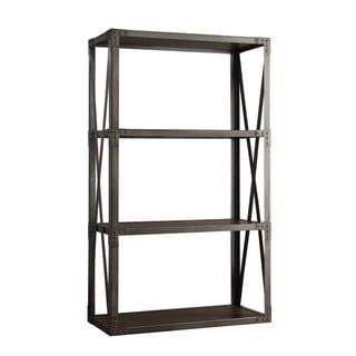 INSPIRE Q Sedgwick Vintage Industrial Modern Bracket Metal 40-inch Bookcase