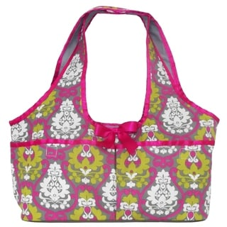 AnnLoren Lotus Print Doll Carrier Tote for 18-inch Dolls